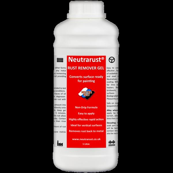 Neutrarust Highly effective Rust Remover Gel 1 Litre