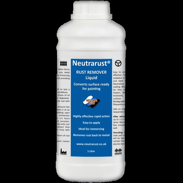 Neutrarust Highly effective Rust Remover Liquid 1 Litre