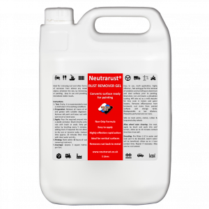 Neutrarust Highly effective Rust Remover Gel 5 Litres